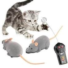 Cat-Toy Mouse Remote-Control Electric Wireless Simulation Fake-Mice Pet-Novelty Funny
