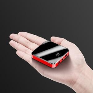 Image 2 - Mini Power Bank 20000MAhสำหรับXiaomi Mi 9 Powerbankชาร์จแบบพกพาMini Dual USB Fastชาร์จPoverbankสำหรับiPhone 11 8 7 Plus