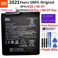 100% Оригинальный запасной аккумулятор BP41 BP40 для Xiaomi Redmi K20 Pro Mi 9T Pro Mi9T Redmi K20Pro, Премиум оригинальный аккумулятор 4000 мАч