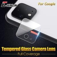 Nuovo Obiettivo di Macchina Fotografica Posteriore Trasparente Temperato di Vetro Per Google Pixel 4 4a 3a 3 2 XL 4XL 3aXL 3XL 2XL protezione dello schermo Pellicola Protettiva