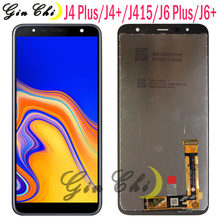 NEW For Samsung J4 plus LCD Display Touch J4+ 2018 J4 Plus J415 J415F J410 J6 Prime J6 Plus 2018 J610 LCD Display Touch Screen(China)