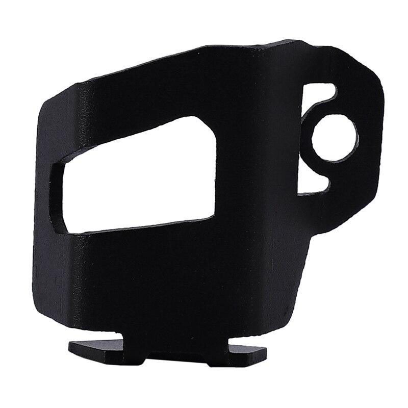 Protection de la tasse d'huile de frein couvercle de bouchon d'huile de frein arrière protéger pour Benelli TRK 502 Leoncino BJ 500 noir