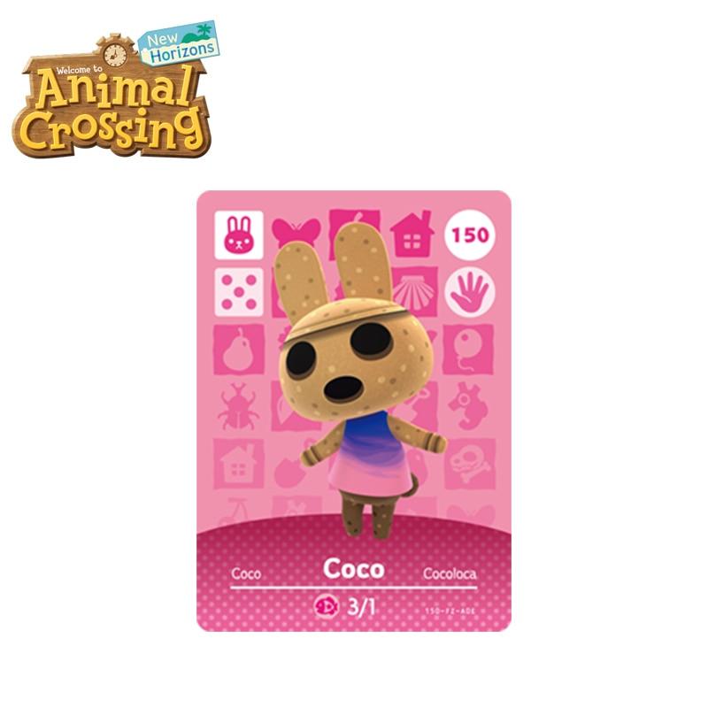 150 Coco Best Animal Crossing New Horizons Funniest Villagers Coco Amiibo Card Animal Crossing Card Series 2 VS Raymond
