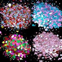 50 g/Pack Ongles Paillettes Flocons De Paillettes BRICOLAGE Hexagone Brillant Coloré Ultra-mince Paillettes Manucure Ongles Art Décorations Paillettes