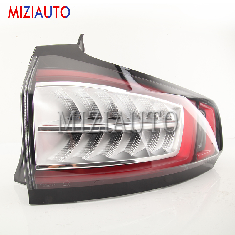 MIZIAUTO Outer side Rear tail Light For Ford Edge 2013 2019 Brake Light Rear Bumper Light Left Right Tail Stop Lamp in Car Light Assembly from Automobiles Motorcycles