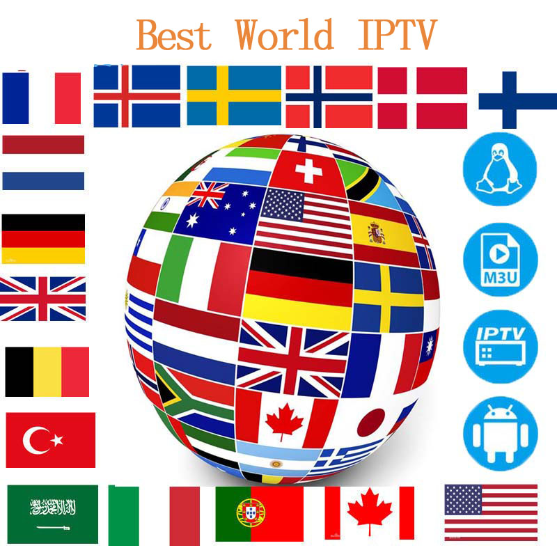 Europe Arabic IPTV Tv-Box Belgium Subscription Germany Italian Android Europe Spanish m3u