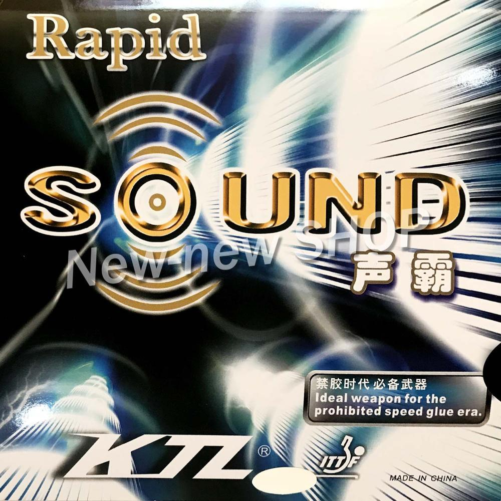 KTL Rapid SOUND Pips-In Table Tennis Rubber With Sponge