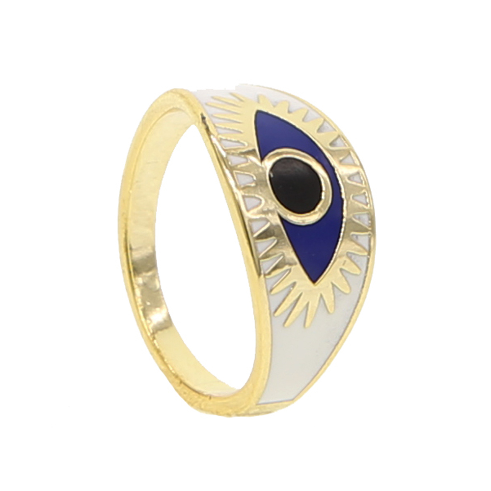 brass ring H size 5 6 7 8 (5)