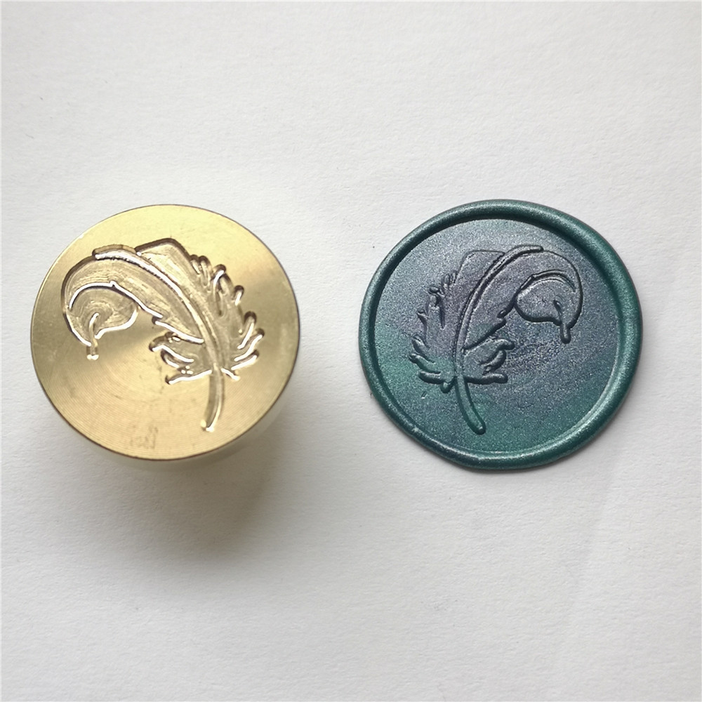 Sello de sello de cera antiguo sellado tampones decorativa