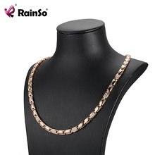 Женское Ожерелье из циркония rainso 2020 классические популярные