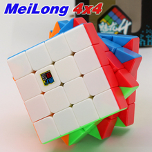 Game-Stickers Puzzles Magic-Cube Meilong Twist Cubo Speed Moyu Educational-Toys 4x4x4