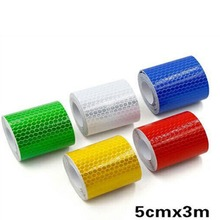 Stickers Warning-Light-Reflector Tape-Strip Mark Car Safety 5cmx3mh 1pc
