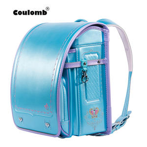 Coulomb Children Backpack Bookbag School-Bag Frozen Japanese Girl Student PU Hasp