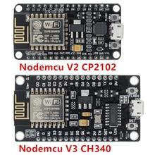 Беспроводной модуль CH340/CP2102 NodeMcu V3 V2 Lua WI FI Интернет вещей Совет по развитию на основе ESP8266 ESP 12E с антенна PCB