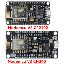 Mạng Không Dây CH340/CP2102 NodeMcu V3 V2 Lua WIFI Của Sự Vật Ban Phát Triển Dựa ESP8266 ESP 12E Với PCB ăng Ten