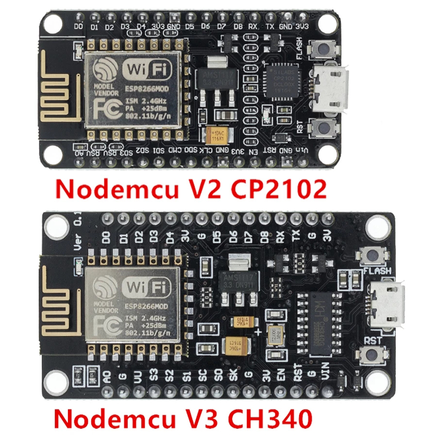 Wireless module NodeMcu v3 v2 ESP8266 D1MINI Lua WIFI development board  RNAH`US