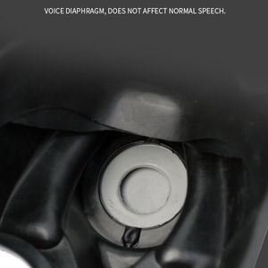 Image 2 - מלא Facemask הנשמה Airsoft גז מסכת משקפי CS זיעה אבק מסיכת פן כימיה צבע E65A
