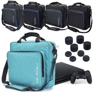 Image 1 - עבור PS4 PS4 פרו רזה משחק Sytem תיק מקורי גודל לפלייסטיישן 4 קונסולת להגן כתף לשאת תיק תיק בד מקרה