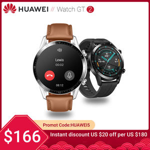 In Stock Huawei Watch GT 2 Smart watch Bluetooth Smartwatch 5.1 14 Days Battery Life Phone Call Heart Rate For Android iOS