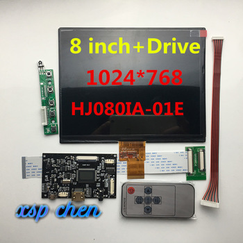 8-дюймовый ЖК-экран HJ080IA-01E HE080IA-01D 1024*768 IPS hd ЖК-дисплей + HDMI/VGA/2AV плата управления