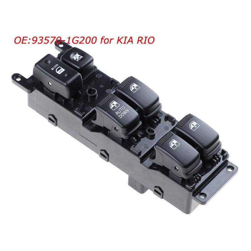 OEM 93570-1G200 для KIA RiO 2007 2008 2009, автомобильный передний левый электрический выключатель окна, 14 контактов, автомобильные аксессуары 935701G200