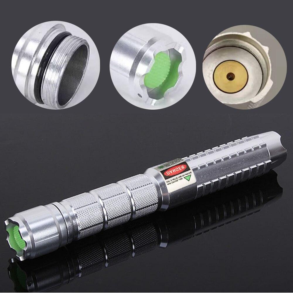 Alta potência verde laser ponteiro caneta 532nm