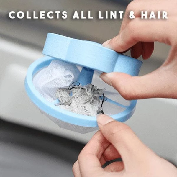 1pcs Reusable Washing Machine Floating Mesh Filter Bag Floating Pet Fur Catcher Hair Remover Accessories For Washing Machine Hot