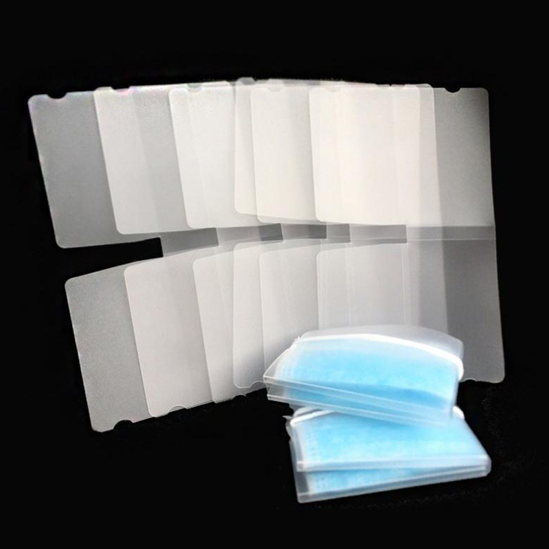 10pcs/set Mask Storage Folder Foldable Portable New Food-grade Environmental Protection Compact Easy Clean Mask Storage Folder