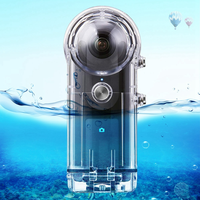 Boîtier étanche PULUZ 30M pour RICOH Theta V/Theta S et SC360 360 degrés accessoires pour caméra boîtier coque de protection de plongée