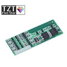TZT 4S 8A polimerowa litowo-jonowa ładowarka akumulatorów litowych płyta ochronna do 4 szeregowych akumulatorów litowo-jonowych 3.7 BMS