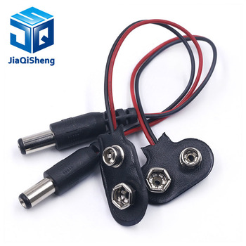 90 DC 9V Battery button power plug for Arduino Mega 2560 1280 UNO R3 132 9V battery buckle image