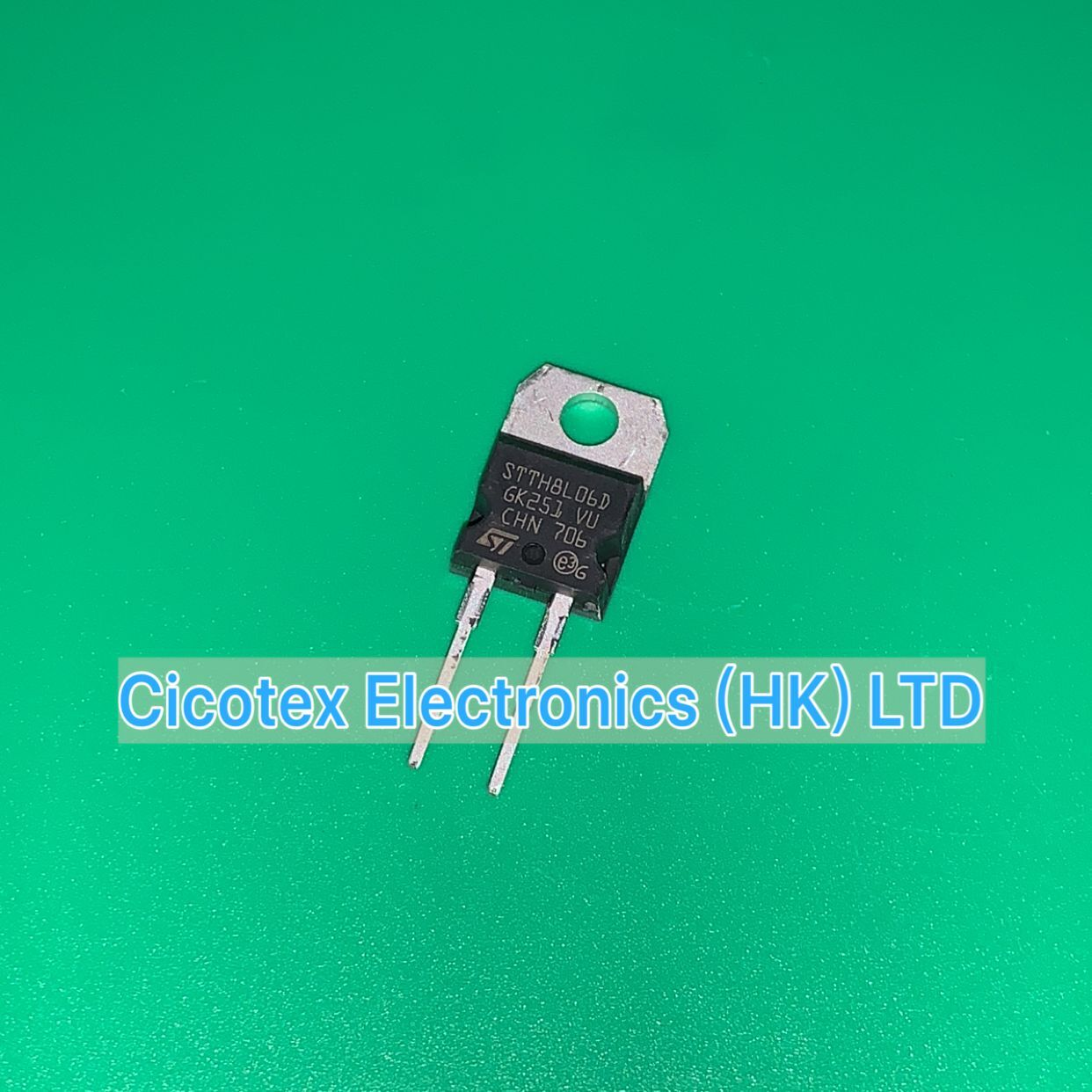 5pcs/lot STTH8L06D IRG TO-220AC STTH 8L06 D DIODE GEN PURP 600V 8A TO220AC STTH8L06DIRG