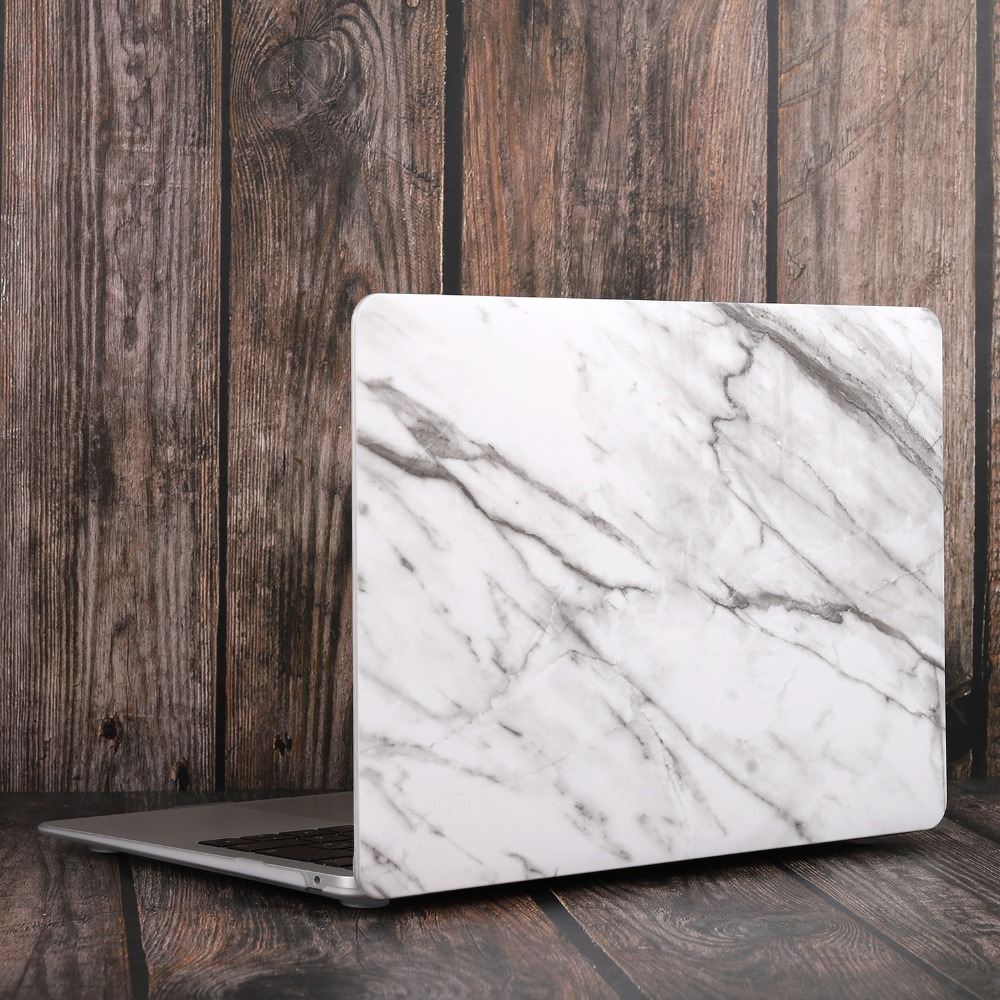 Marble Flower Bling Case for MacBook 89