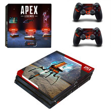 APEX Legends Style Skin Sticker for PS4 Pro Console And Controllers Decal Vinyl Skins Cover YSP4P-3258