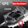 GPS 500M Remote Control RC Fishing Bait Boat Auto Cruise Control 2KG Loading 3 Hoppers GPS RC Nesting Boat With Fish Finder toys