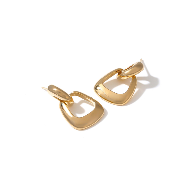 Yhpup Hollow Geometric Dangle Earrings Copper Golden Earrings Fashion Simple Design Jewelry for Female Punk Office.jpg 640x640 - Yhpup Hollow Geometric Dangle Earrings Copper Golden Earrings Fashion Simple Design Jewelry for Female Punk Office S925 Post New