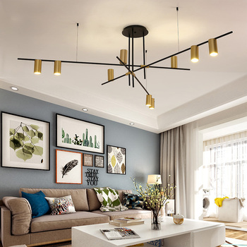 Creative Design LED Chandeliers Lighting Personality Hanging Branch Lamp for Living Room Cafe Bar Bar Studio Restaurant