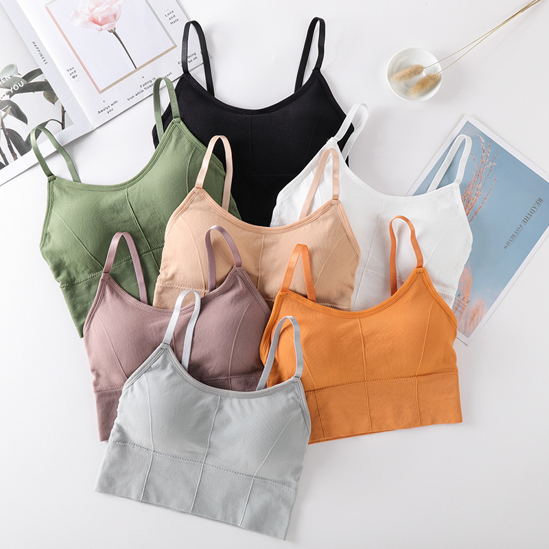 Female SHI Underwear Seamless Strap Chest Wrapped Female Student Underwear Tube Top