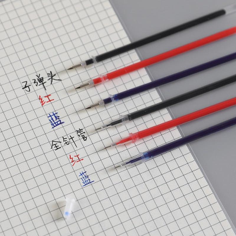 20pcs/set Gel Pens Refill Kawaii Pen Stationery Gel Pen Refill Student Cute Pens Kawaii Stationery Kawaii School Supplies