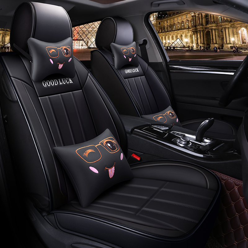 Full Coverage Eco leather auto seats covers PU Leather Car Seat Covers for Toyota RAV4 C HR IZOA CAMRY HYBRID COROLLA HYBRID LEV|Automobiles Seat Covers| |  - title=