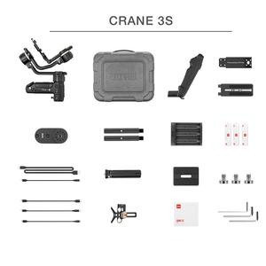 Image 3 - ZHIYUN Official Crane 3S E/Crane 3S 3 Axis Handheld Gimbal Payload 6.5KG for Video Camera  DSLR Camera Stabilizer New Arrival