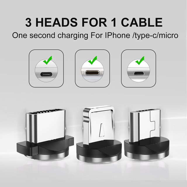 Cable Micro USB Magnético 5