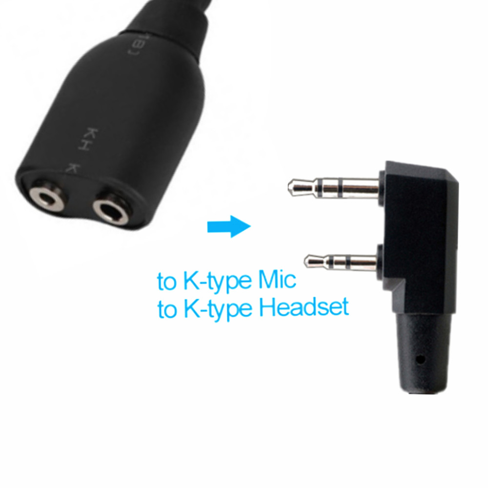 Adaptateur de câble Audio pour talkie-walkie pour Motorola Radio SL1M SL1K SL1600 SL300 SL7500 à UV-5R K