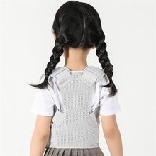 Child Back Posture Corrector With 2Pcs Steel Plates Back