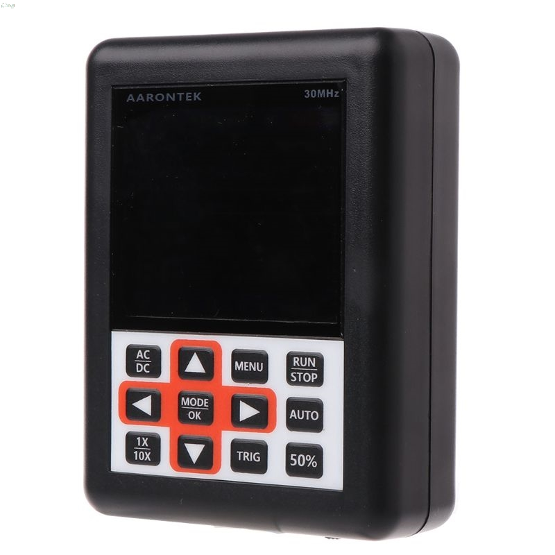 Handheld Mini Portable Digital Oscilloscope DSO FNIRSI 30M Bandwidth 200MSps Sampling Rate IPS LCD Display
