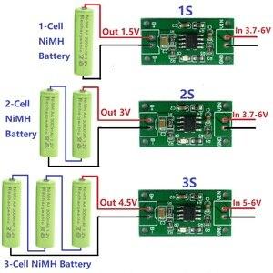 Image 1 - 1A 1A chargeur chargeur batterie Rechargeable tout tout usage 1A NiMH chargeur de 1.5V 3 4.5V 1.2V CC/CV Module de 2.4V 3.6V
