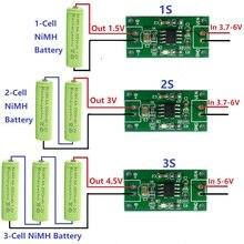 1A NiMH แบตเตอรี่อเนกประสงค์ 1.5V 3V 4.5V CC/CV โมดูลชาร์จ 1.2V 2.4V 3.6V แบตเตอรี่
