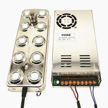 DC 48V 5000ML/H 10 Head Ultrasonic Atomizer Industrial Humidifier Ultrasonic Mist Maker Fogger With 110V 220V Power Supply