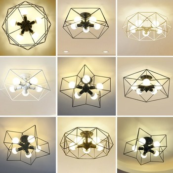 And Lanterns Bedroom Lamp Concise Modern Cozy Romantic Room Lamp Originality Personality Children Lamp Led Attract Top Light