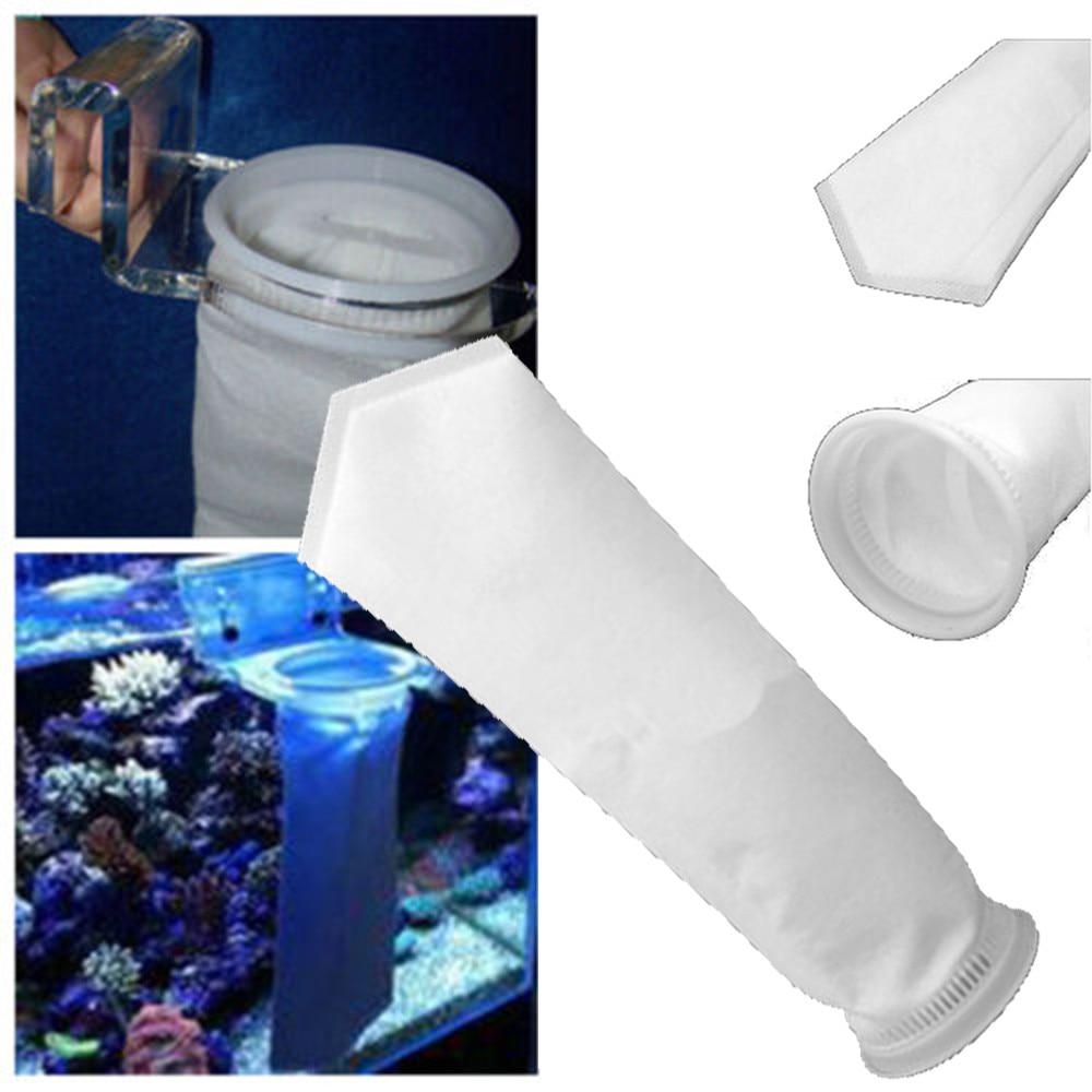 200 микрон аквариум Коралловый риф рыба аквариумная морская приемный носок мешок DIY Божественная аквариум мешок-сито фильтры практичный фил...